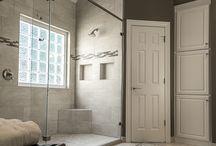 Transitional Master Bathrooms