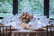 gli aperitivi  nei giardini delle Scuderie / allestimenti esterni per il ricevimento
