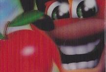 Card olografiche Crash bandicoot