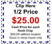 Patsco Windshield Glass Repair In Houston, TX. ($25) Rock Chip Repair
