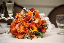 W day flowers & colors / 2015-0829 Wedding / by Sandra Vivanco