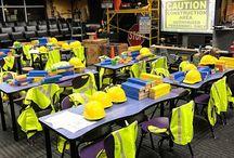 Construction Classroom Transformation