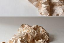 textile bois