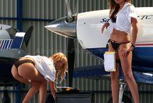 donne e aerei