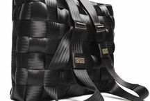 Recycling - Seat belts and fire hoses / Recycled seat belts and fire hoses