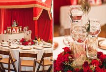 Vintage Circus Bridal Party