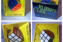 Vintage Rubik's Cube / Vintage Rubik's cubes.