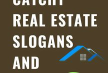 Catchy Real Estate Slogans and Taglines