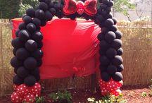 Mickey & Minnie / Mickey & Minnie balloon decor