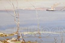 The Volga landscape / Волжский пейзаж