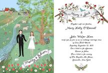 Invitations/Save The Date/Ceremony Programs / by Elizabeth Kane