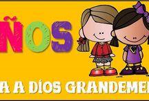 Devocionales para Ninos -Ama a Dios Grandemente / Actividades y manualidades para tus ninos o escuelita Biblica.