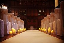 Our aisle and walkway carpets / Selected pictures of our wedding ceremony aisle runner and carpets