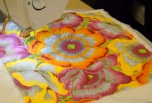 Quilting:  Thread Painting
