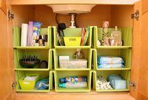 Bathroom organizing and decoration