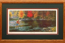 Fly Fishing Art / Artwork of capturing the beauty of fly fishing.