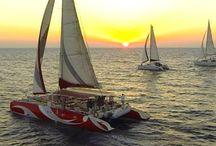Santorini • Catamarans & Kaikia • Greece