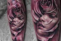 Niesamowite tatuaże