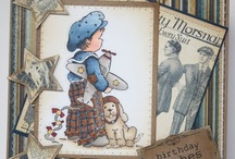 Cards - penny black stamps