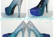 Sparkle Heels/dresses/outfits