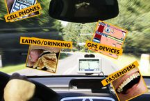 Top Causes for Distracted Driving / We all live busy lives on the go, but distracted driving is one of the leading causes of car accidents in our country. Distracted driving can occur in a variety of ways for countless reasons. Take some time to get informed, plan ahead and avoid these main distractions to make your time on the roads a little safer. #Columbus #OH #attorney #distracteddriving