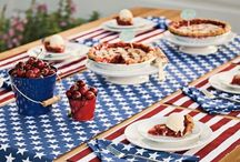 Patriotic Holidays / Decorating and cooking for Memorial Day and the other Patriotic Holidays