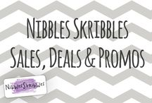 Nibbles Skribbles Sales & Deals / Special Digital Scrapbooking offers from Nibbles Skribbles - check out what's new!  / by Nibbles Skribbles