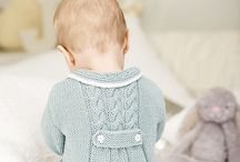 Modern baby girls knitting pattern
