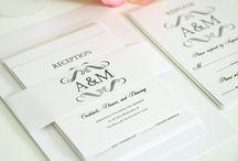 Wedding Invitations / by Tiffany Lamothe