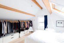 Garderobe Raum