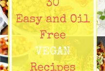 Plant-Based and Oil Free Recipes! / We love seeing what other plant-based, oil-free recipes other bloggers create! These are ones we can't wait to try!