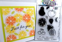 FEELING FRUITY A5 & A6 stamp sets