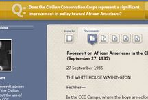 Black History Month / SAS Curriculum Pathways resources that illuminate African-American history and civil rights.