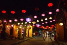 Romantic lanterns in Hoi An ancient town / #Nights at Hoi An Ancient Town become more mysterious and romantic with various kinds of hand-made #lanterns. The peaceful scene, #HoiAn keep visitors attractive with flickering lanterns.