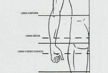 Moldes para roupas masculina