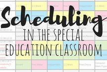 Special Ed Spot's Scheduling Ideas / Ideas and products for scheduling in the special education classroom.