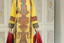Nation Embroiderd Lawn Suits Collection by Riaz Arts