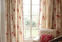 curtains and duvets