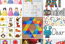 Free Printables / Collection of great FREE printables that children will love to play and learn with.