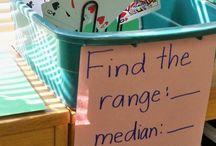 3-5 Math / BES school board for teachers / by Lisa Rose