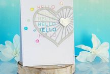 My cardmaking: Clean and Simple