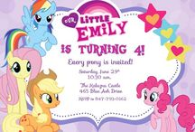 My lil pony party