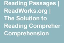 Reading Comprehension Websites / Reading passages and question sets to improve reading comprehension