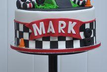 Cake Race Car