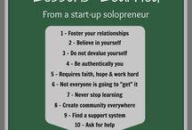 Entrepreneurship / by Nicole Dash
