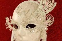 Venetian Wall Masks / Beautiful Venetian masks to hang on the wall
