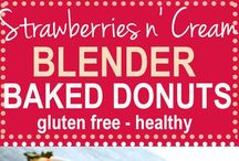 Healthier DONUT Recipes