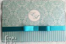 Turquoise wedding invitation indian inspired