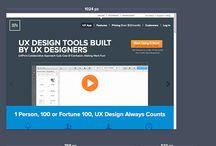 Web Design UX Inspiration / UX inspiration