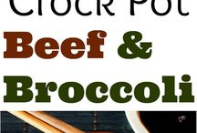 Crockpot beef meals